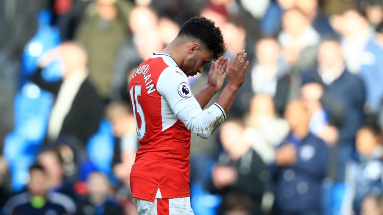 Alex Oxlade-Chamberlain insists Arsenal have to keep going until the end