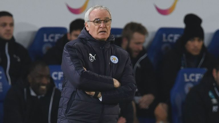 Claudio Ranieri will make 10 changes to his first-team for Saturday's FA Cup tie at Millwall