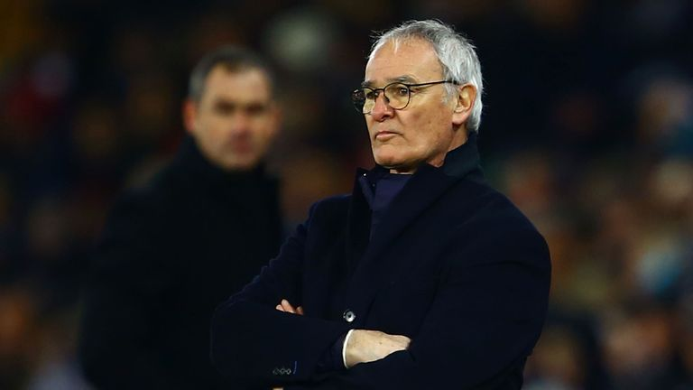 Claudio Ranieri was sacked by Leicester on Thursday night