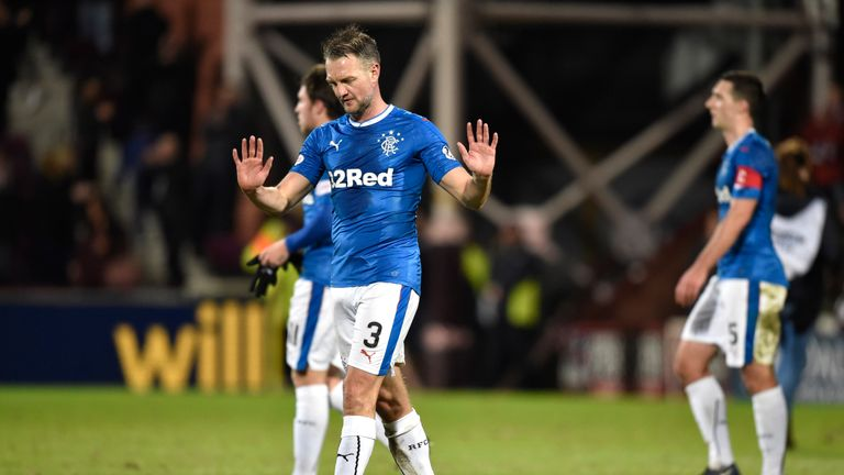 Clint Hill's lack of pace has been exposed on a number of occassions at Rangers