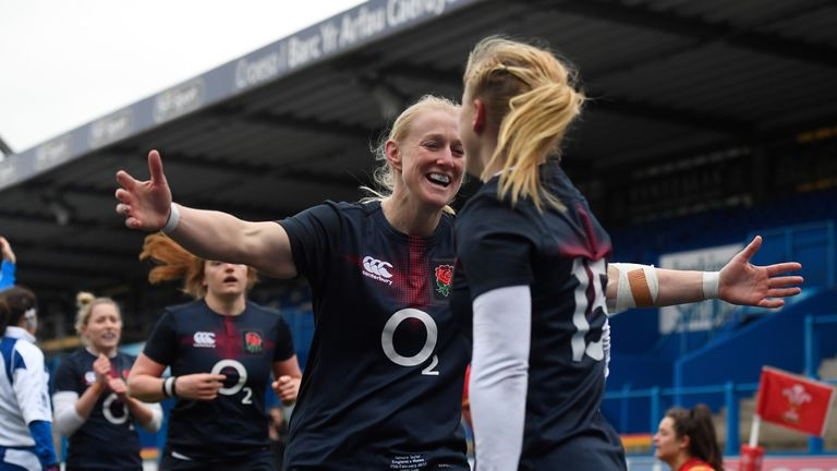 The Red Roses have won their first three games in the Six Nations and top the table