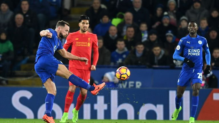 Drinkwater connects sweetly to score his first goal of the season