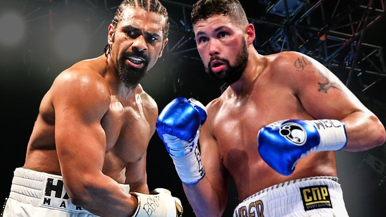 David Haye and Tony Bellew go head-to-head this weekend