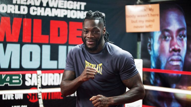 Deontay Wilder returns to the ring later this month, live on Sky Sports
