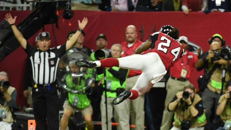 Devonta Freeman opened the scoring with a five-yard touchdown run