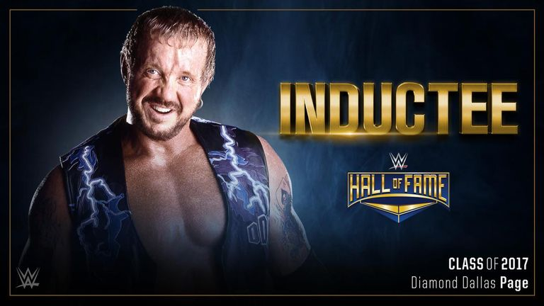 Diamond Dallas Page joins WWE Hall of Fame Class of 2017