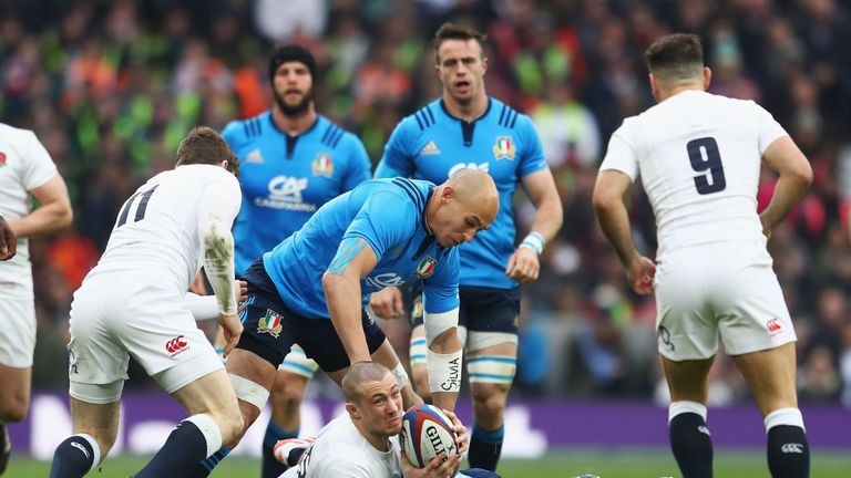 Italy's refusal to form rucks flummoxed England