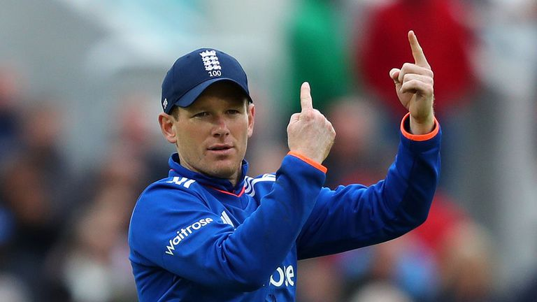 Captain Eoin Morgan will lead England in Antigua and Barbados