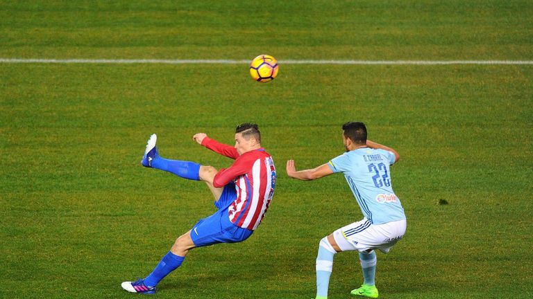 Fernando Torres scored a sublime overhead kick last weekend
