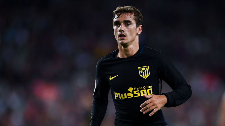 Antoine Griezmann is under contract with Atletico until 2021