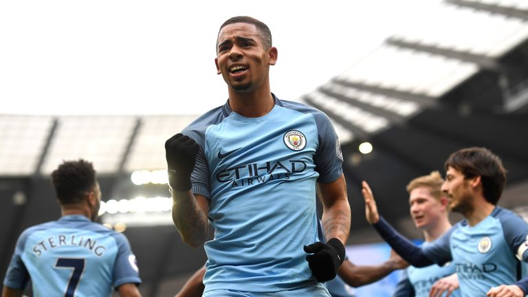 Gabriel Jesus has starred for Manchester City since January