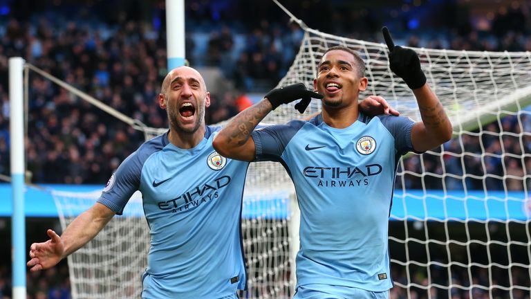 Gabriel Jesus will travel with Manchester City ahead of Sunday's FA Cup semi-final against Arsenal