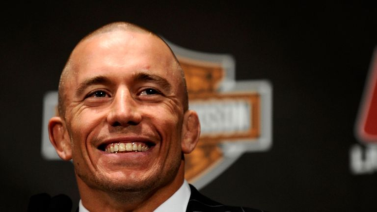 St-Pierre's return to UFC was confirmed in February