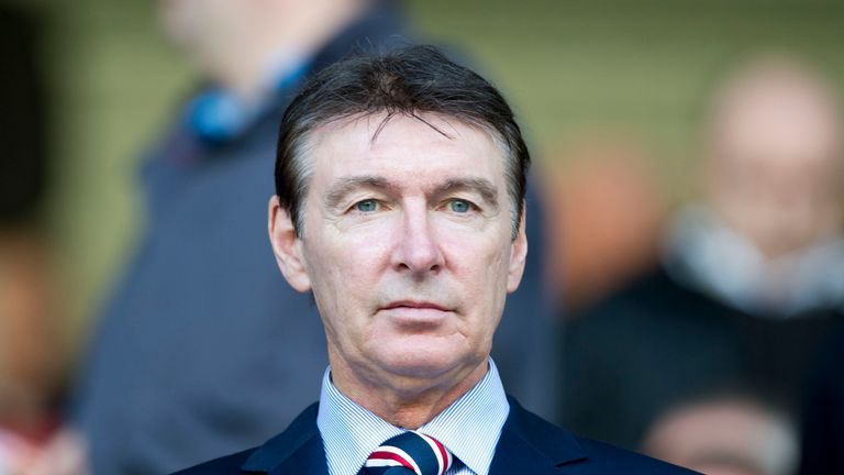 Gordon Smith was director of football at Rangers