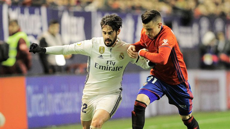Guillem thinks Isco would welcome the chance to play in either Italy or England