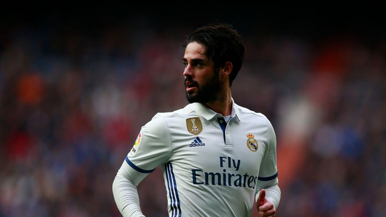 Real Madrid midfielder Isco was a target for Tottenham last summer