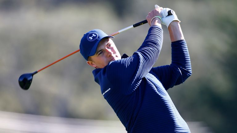Spieth in control with 6-stroke lead