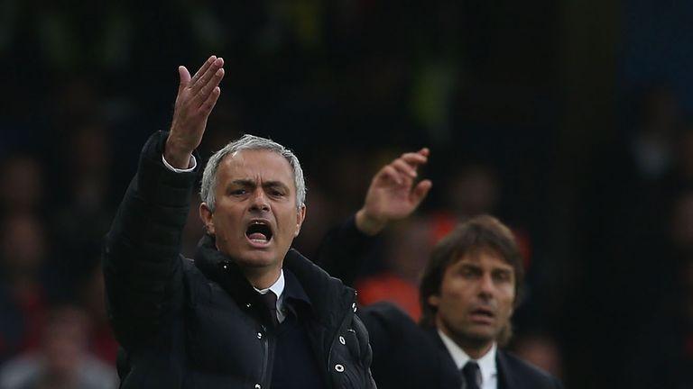 Jose Mourinho and Antonio Conte go head-to-head at Old Trafford in April