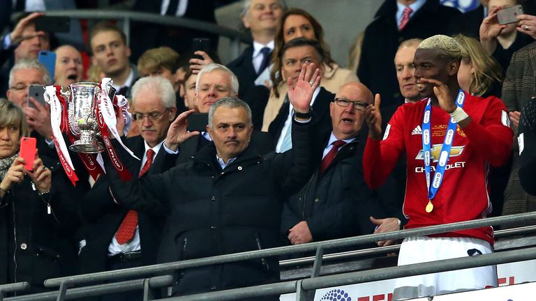 United have already won the EFL Cup in Mourinho's first season in charge