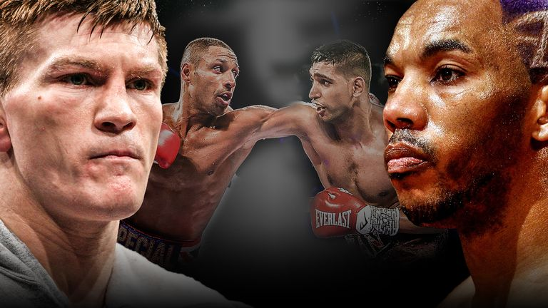 Junior Witter and Ricky Hatton never settled their long-running rivalry