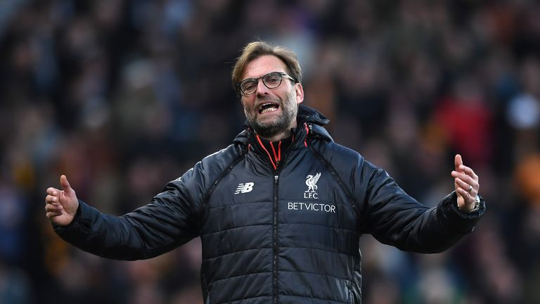 Jurgen Klopp insists his high-intensity tactics are not to blame for Liverpool's injuries