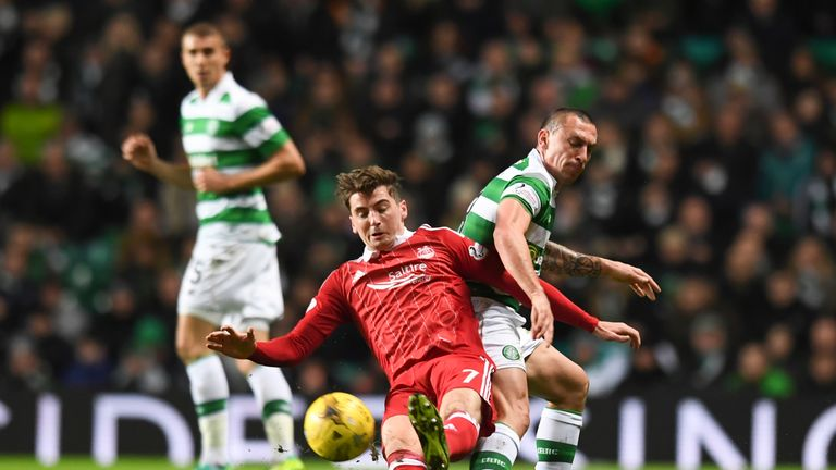 Aberdeen's Kenny McLean is in fine form