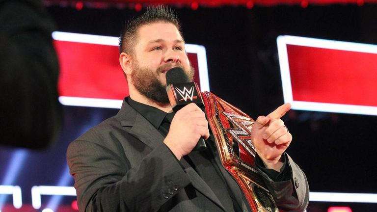 Kevin Owens has held several titles in WWE and is considered to be a top-tier talent