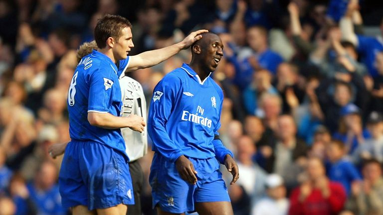 Hasselbaink spent four years at Chelsea, scoring 88 goals in all competitions