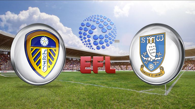 Watch Leeds v Sheffield Wednesday on Sky Sports from 12pm on Saturday
