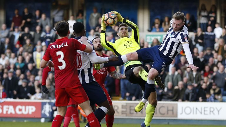 Millwall beat Leicester in the fifth round