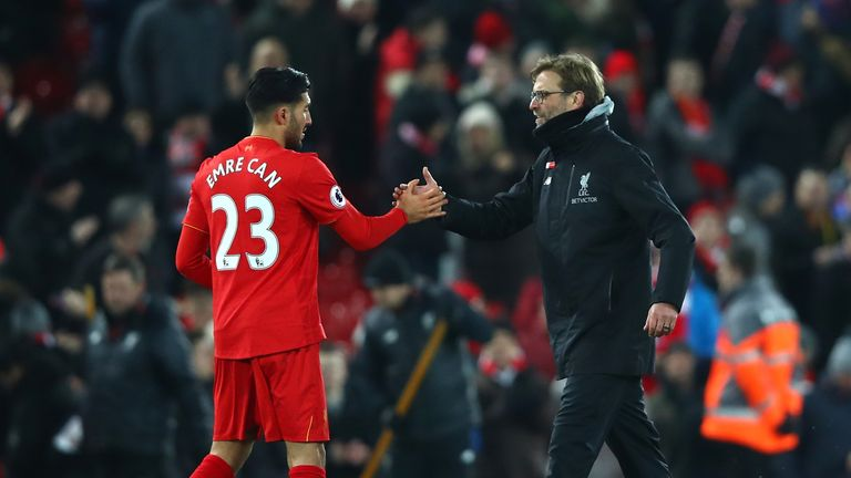 Jurgen Klopp has said he will not pressure Can to sign a new deal