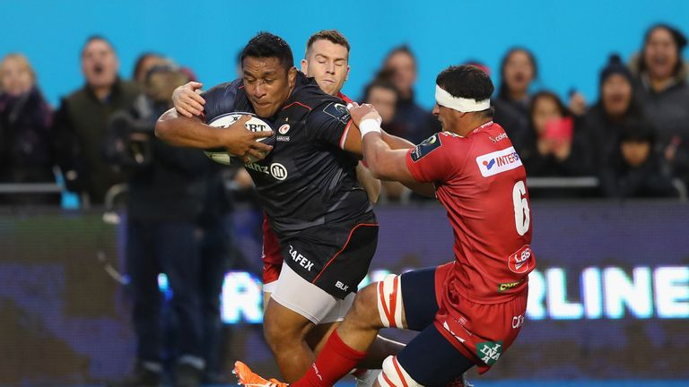 Gloucester v Saracens: Mako Vunipola returns for Sarries