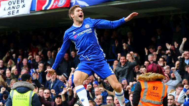 Marcos Alonso has been given the weekend off along with David Luiz