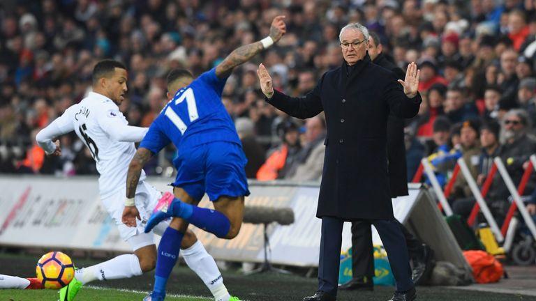 Claudio Ranieri's side face a relegation battle