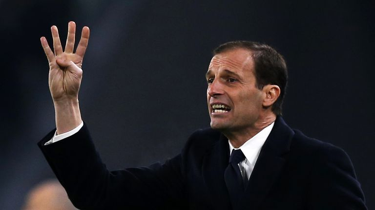 Juventus'coach Massimiliano Allegri has been linked with the Arsenal job