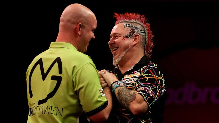 Van Gerwen Peter Wright