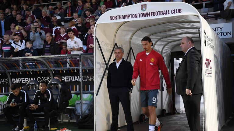 Jose Mourinho wants a new striker after releasing Zlatan Ibrahimovic