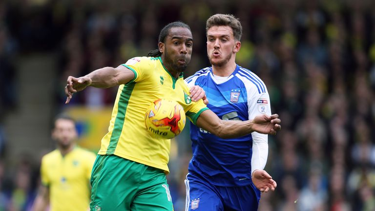 Emyr Huws (right): Doubt for Ipswich