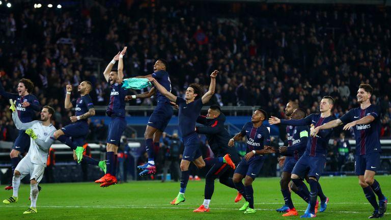 Paris Saint-Germain could soon be celebrating the arrival of Neymar