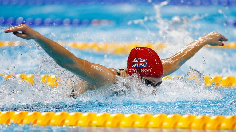 Siobhan was just pipped to gold in the final of the 200m IM