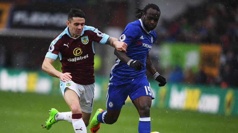 Victor Moses was a key figure for Chelsea as they won the Premier League this season