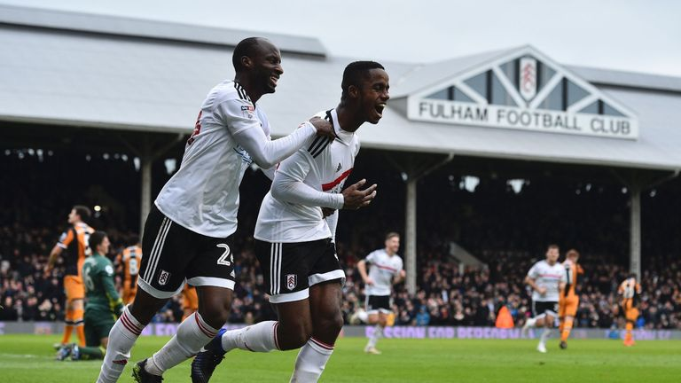 Ryan Sessegnon (right) has been Fulham's breakthrough star this season