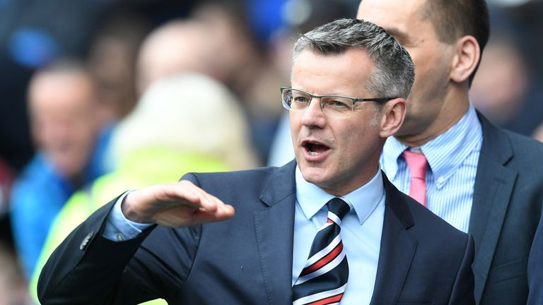 Rangers managing director Stewart Robertson says an announcement on an assistant will be made soon