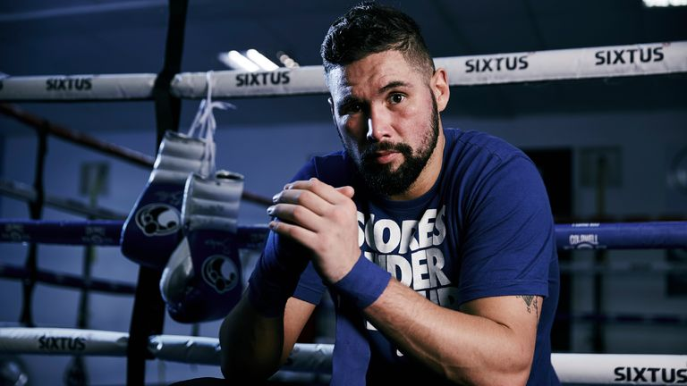 Tony Bellew tempted to take on Britain's UFC champion Michael Bisping