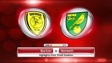 Burton 2-1 Norwich