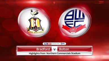 Bradford 2-2 Bolton