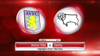 Aston Villa 1-0 Derby