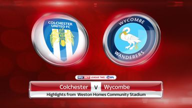 Colchester 1-0 Wycombe