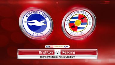 Brighton 3-0 Reading