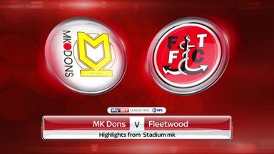 MK Dons 0-1 Fleetwood